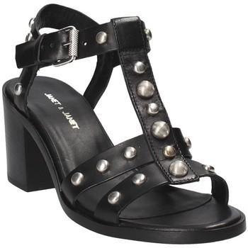 Pantofi Femei Sandale  Janet&Janet 41409 Negru