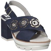 Pantofi Femei Sandale  CallagHan 22600 Albastru