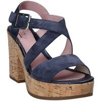 Pantofi Femei Sandale  Stonefly 110365 Albastru