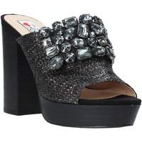 Pantofi Femei Papuci de vară Love To Love ELI483 Negru