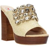 Pantofi Femei Papuci de vară Love To Love ELI4177 Maro