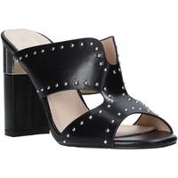 Pantofi Femei Papuci de vară Gold&gold A20 GD222 Negru