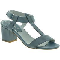Pantofi Femei Sandale  Mally 3895 Albastru