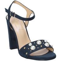 Pantofi Femei Sandale  Grace Shoes 1396 Albastru