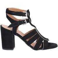 Pantofi Femei Sandale  Mally 6272 Negru
