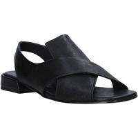 Pantofi Femei Sandale  Mally 5763R Negru