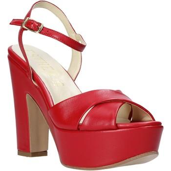 Pantofi Femei Sandale  Esther Collezioni T260 CRIS Roșu