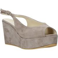 Pantofi Femei Sandale  Esther Collezioni ZC 042 Gri