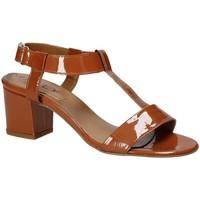 Pantofi Femei Sandale  Mally 3895K Maro