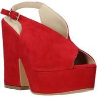 Pantofi Femei Sandale  Esther Collezioni ALBA 107 Roșu