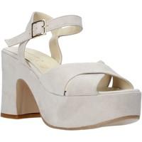 Pantofi Femei Sandale  Esther Collezioni RM133 Gri