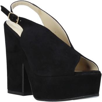 Pantofi Femei Sandale  Esther Collezioni ALBA 107 Negru