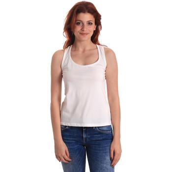 Îmbracaminte Femei Maiouri și Tricouri fără mânecă Fornarina BE175L04JG0709 Alb