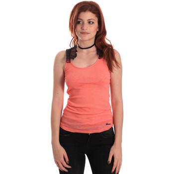 Îmbracaminte Femei Maiouri și Tricouri fără mânecă Fornarina SE175J75H26368 Portocale