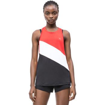 Îmbracaminte Femei Maiouri și Tricouri fără mânecă Calvin Klein Jeans 00GWS9K150 Negru