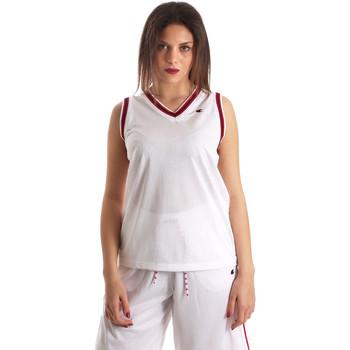 Îmbracaminte Femei Maiouri și Tricouri fără mânecă Champion 111382 Alb