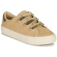 Pantofi Femei Pantofi sport Casual No Name ARCADE STRAPS Bej / Auriu