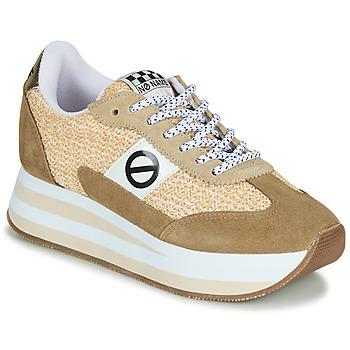 Pantofi Femei Pantofi sport Casual No Name FLEX M JOGGER Maro / Bej