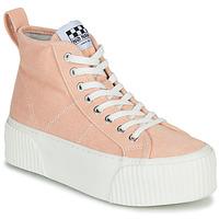 Pantofi Femei Pantofi sport stil gheata No Name IRON MID Roz