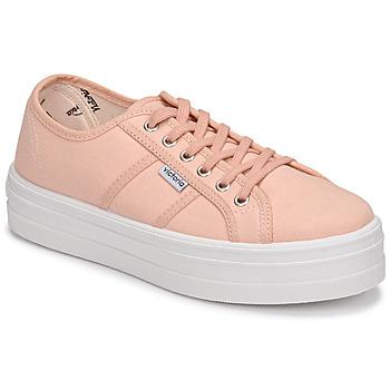 Pantofi Femei Pantofi sport Casual Victoria BARCELONA LONA Roz