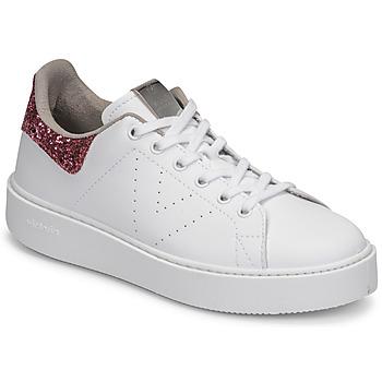 Pantofi Femei Pantofi sport Casual Victoria UTOPIA GLITTER Alb / Roz