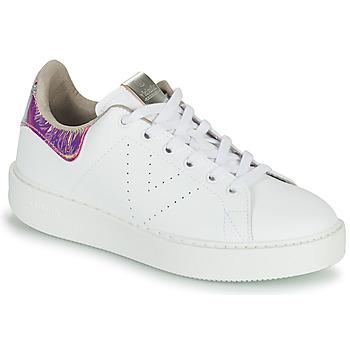 Pantofi Femei Pantofi sport Casual Victoria UTOPIA HOLOG Alb