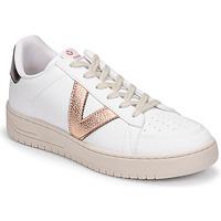 Pantofi Femei Pantofi sport Casual Victoria SIEMPRE BASKET VEGANA METALIZADO Alb