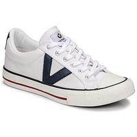 Pantofi Pantofi sport Casual Victoria TRIBU LONA CONTRASTE Alb / Albastru