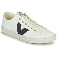 Pantofi Femei Pantofi sport Casual Victoria BERLIN LONA GRUESA Alb / Albastru