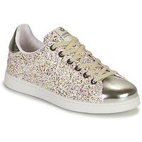 Pantofi Fete Pantofi sport Casual Victoria TENIS GLITTER Argintiu