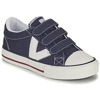 Pantofi Băieți Pantofi sport Casual Victoria TRIBU TIRAS LONA Albastru