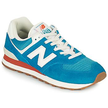Pantofi Bărbați Pantofi sport Casual New Balance 574 Albastru / Alb