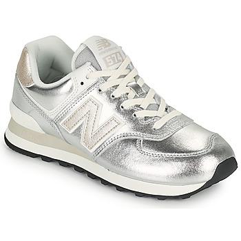 Pantofi Femei Pantofi sport Casual New Balance 574 Argintiu