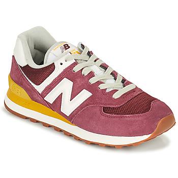 Pantofi Femei Pantofi sport Casual New Balance 574 Bordo