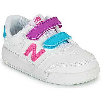 Pantofi Fete Pantofi sport Casual New Balance COURT Alb / Roz