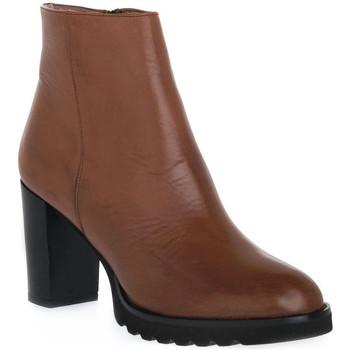 Pantofi Femei Botine Priv Lab 906 CUOIO Marrone