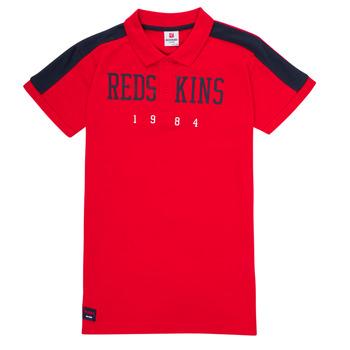 Îmbracaminte Băieți Tricou Polo mânecă scurtă Redskins PO180117-RED Roșu