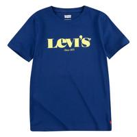 Îmbracaminte Băieți Tricouri mânecă scurtă Levi's GRAPHIC TEE Albastru