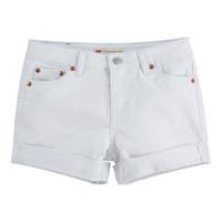 Îmbracaminte Fete Pantaloni scurti și Bermuda Levi's 4E4536-001 Alb