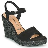 Pantofi Femei Sandale  Tamaris CYNARA Negru