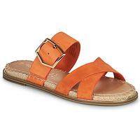 Pantofi Femei Papuci de vară Tamaris LIDYA Portocaliu