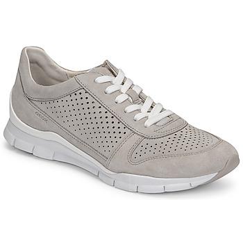 Pantofi Femei Pantofi sport Casual Geox D SUKIE B Gri