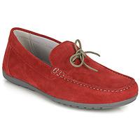 Pantofi Bărbați Mocasini Geox U TIVOLI A Roșu