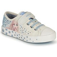 Pantofi Fete Pantofi sport Casual Geox JR CIAK GIRL Alb / Albastru