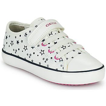 Pantofi Fete Pantofi sport Casual Geox GISLI GIRL Alb