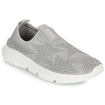Pantofi Fete Pantofi Slip on Geox ARIL GIRL Gri