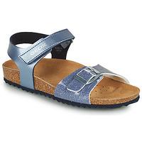 Pantofi Fete Sandale  Geox ADRIEL GIRL Albastru