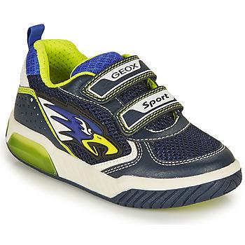 Pantofi Băieți Pantofi sport Casual Geox INEK BOY Albastru / Galben