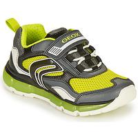 Pantofi Băieți Pantofi sport Casual Geox ANDROID BOY Gri / Lime