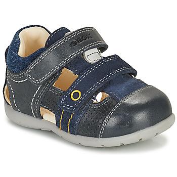Pantofi Băieți Sandale  Geox KAYTAN Albastru